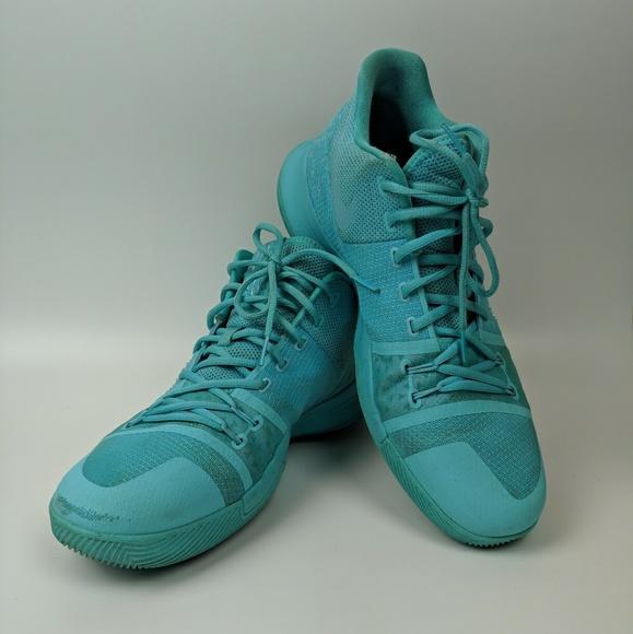 various colors 7d913 6614b NIKE Kyrie 3 Basketball Shoe in Tiffany Aqua